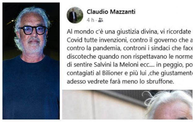 Flavio Briatore; il post dell'assessore