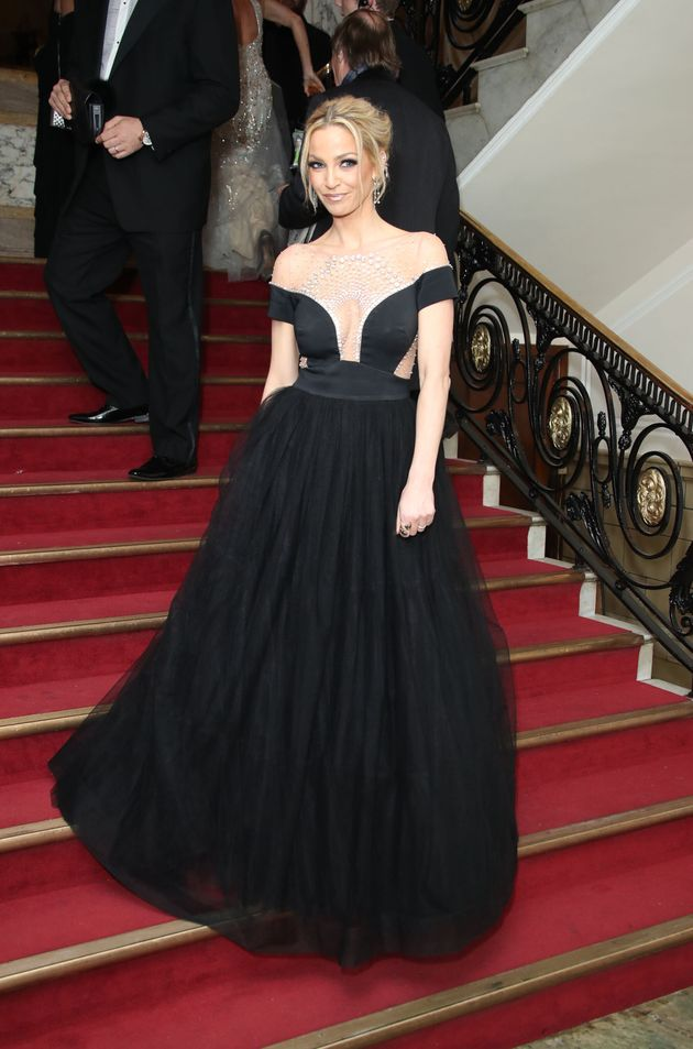 Sarah Harding at the National Film Awards in