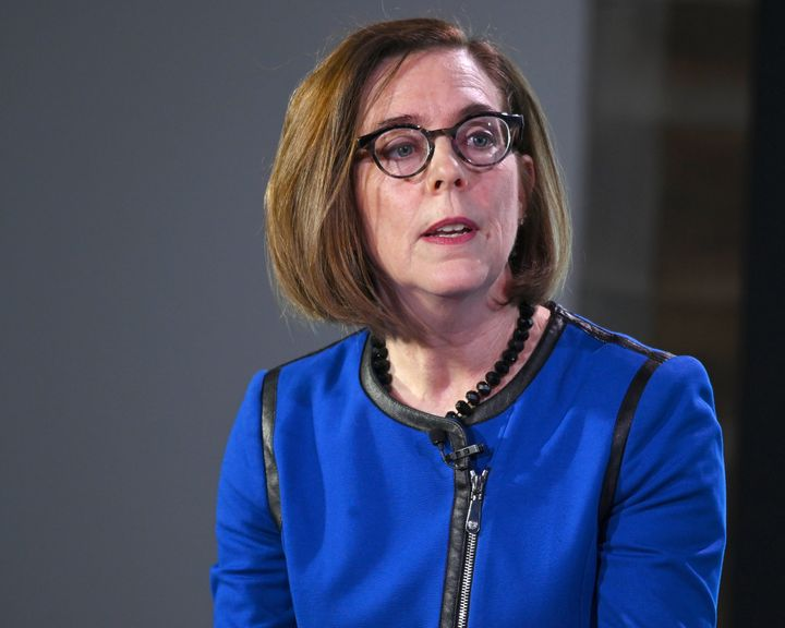 """Oregon Gov. Kate Brown said, """"It is absolutely no question that this is a political decision."""""""