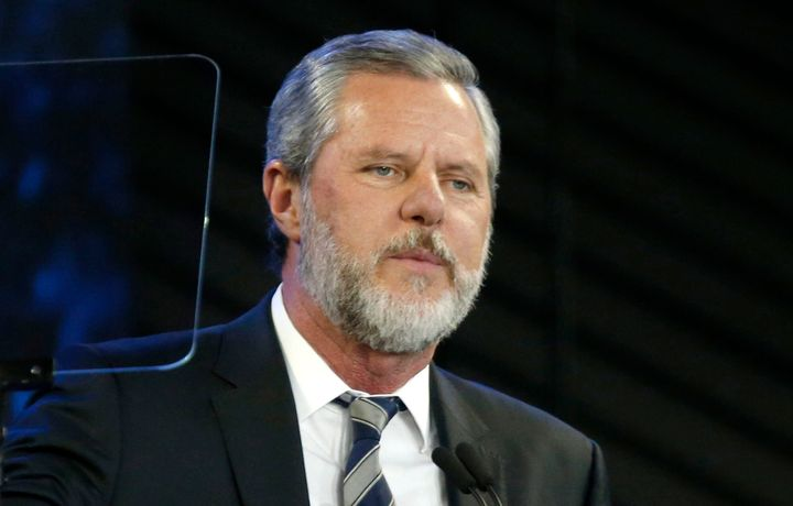 Jerry Falwell Jr. has resigned as head of Liberty University after a provocative photo and revelations of his wife's ex
