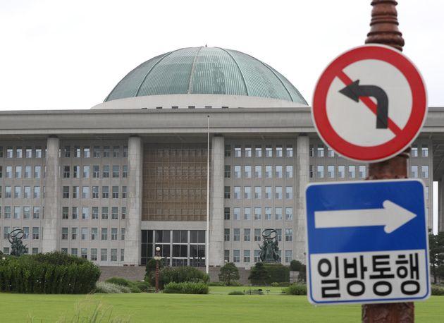 서울 여의도 국회의 모습.