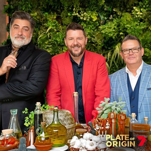 'Plate Of Origin' judges Matt Preston, Manu Feildel and Gary