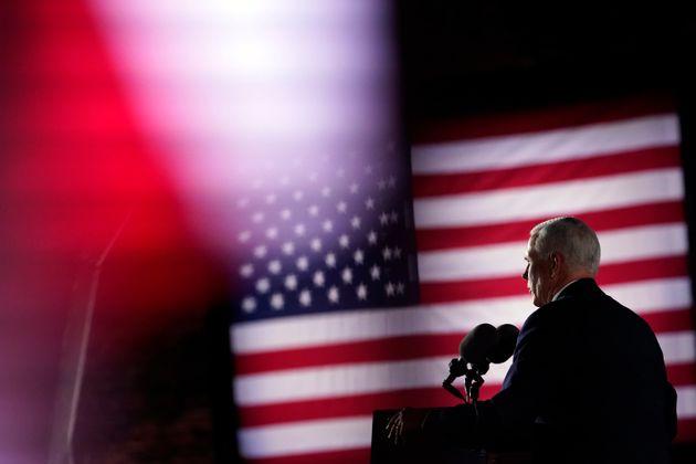 마이크 펜스 부통령은 민주당 조 바이든이 대통령이 되면