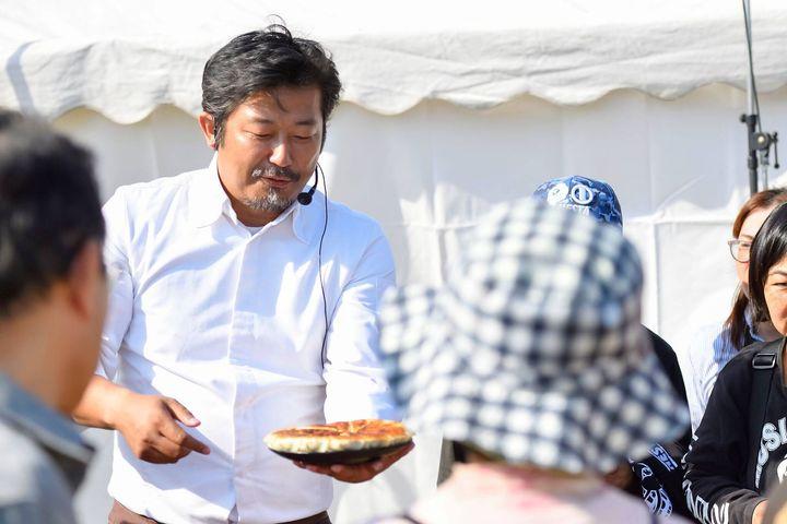 一般社団法人焼き餃子協会 代表理事・小野寺力さん。
