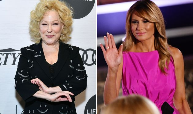Bette Midler Speaks Out Amid Backlash For Tweeting Melania Trump Still Cant Speak English