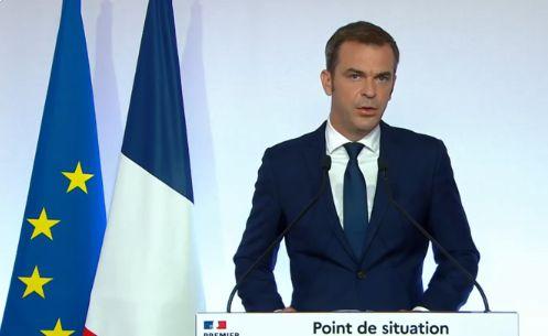 Olivier Véran, ministre de la Santé, le 27 août