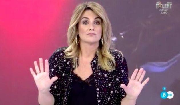 Carlota Corredera, presentadora de