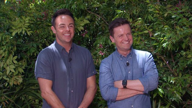 I'm A Celebrity hosts Ant and Dec in the Australian jungle last year