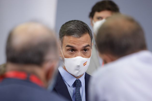 Pedro Sánchez, este martes 25 de agosto en