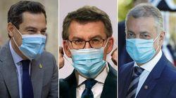 Los presidentes autonómicos más sobrevalorados en la gestión del