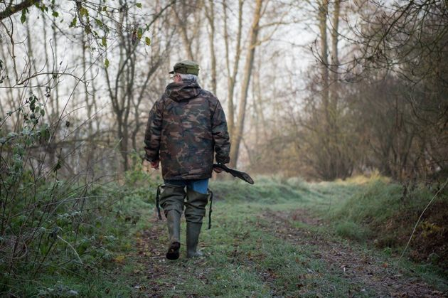 Photo d'illustration: un chasseur à Vouvray le 9 décembre