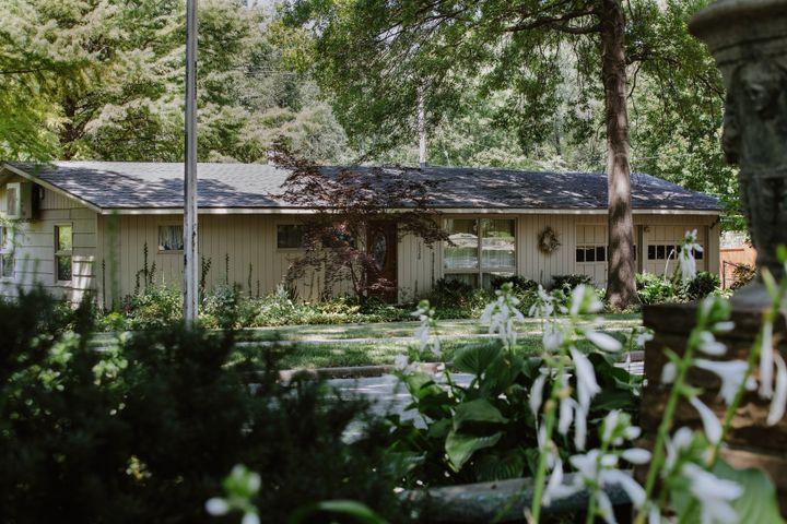 Ellie's childhood homein Prairie Village, Kansas. Her father, Geoff, still lives there.