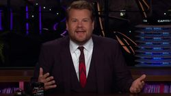 James Corden Calls Out Incredibly Awkward Eric Trump