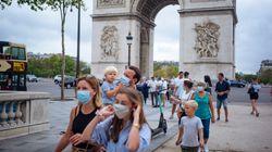 Κορονοϊός: Μάσκα υποχρεωτικά σε κεντρικούς δρόμους στο Παρίσι - 20% της Γαλλίας στην «κόκκινη