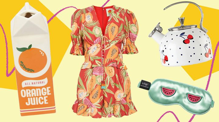 This trend is just peachy. We've found fruit-print dresses, aprons, cookware, home decor and more.