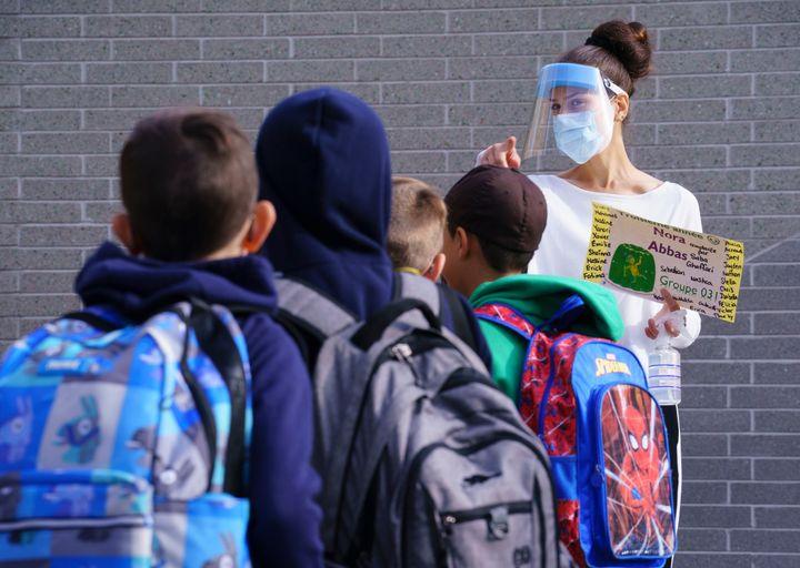 C'était le retour en classe pour des milliers d'écoliers, jeudi.