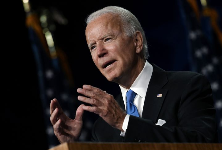 Democratic presidential nominee Joe Biden has a long record of moderate positions on crime, including his current opposition