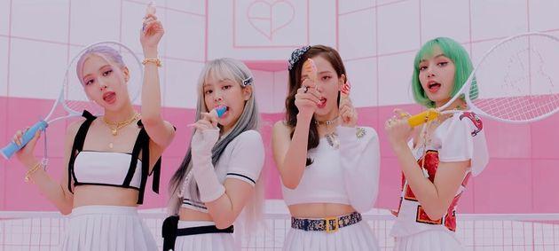 블랙핑크 '아이스크림' 뮤직비디오