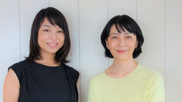 「あの子にまなびをつなぐ」プロジェクトドリームサポーターの有森也実さんと筆者