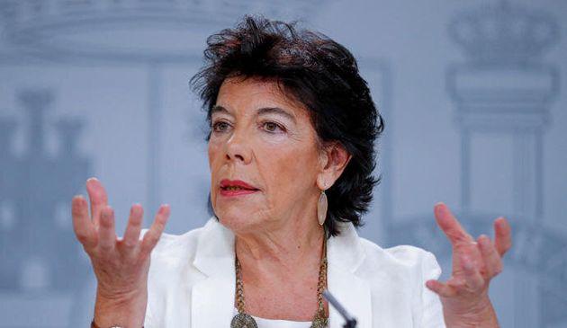 Isabel Celáa, ministra de