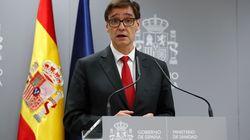 EN DIRECTO: Rueda de prensa del ministro de Sanidad, Salvador Illa y la ministra de Defensa, Margarita
