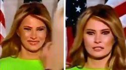 Ivanka Trump arriva sul palco: Melania prima sorride, poi cambia espressione e la