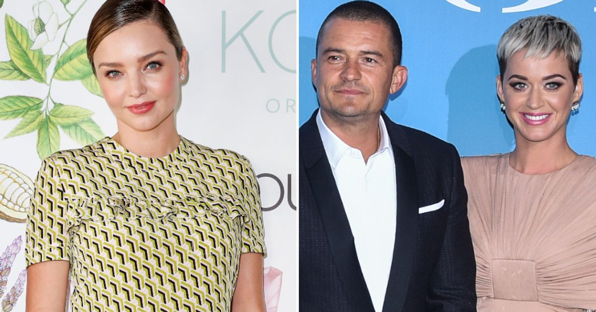Huffpost Uk On Flipboard Miranda Kerr Shares Sweet Message With Ex Husband Orlando Bloom And Katy Perry Following Baby News