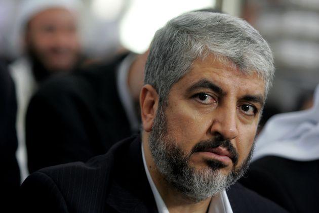 Khaled Mashaal, retratado en Ammán, Jordania, en