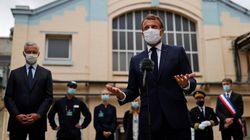 Macron promet 1 milliard d'aides directes pour la relocalisation dans le plan de