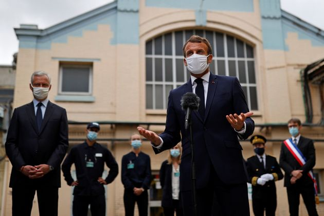 Emmanuel Macron a défendu ce vendredi 28 août son projet de relance de l'économie...