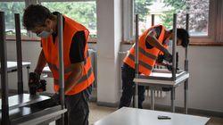 Consegnati a Codogno i primi banchi monoposto: