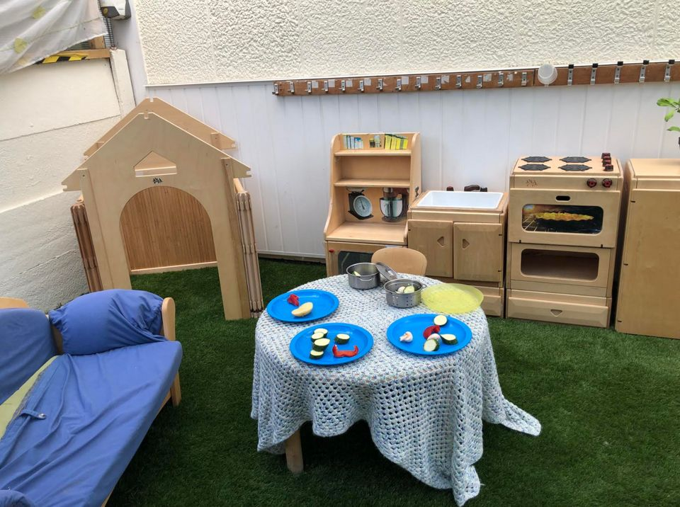 A play kitchen at Eastbury