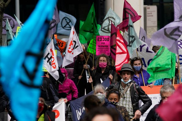 Extinction Rebellion Accuse Met Police Of 'Trying To Crush' Protests
