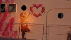 Banksy financia barco de resgate de refugiados no
