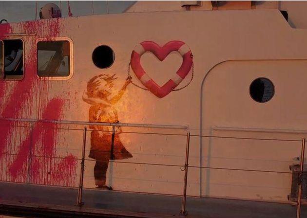 Louise Michel ganhou uma ilustração de Banksy com