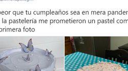 Drama en su cumpleaños: encarga una tarta y el desastre que recibe triunfa como nunca en