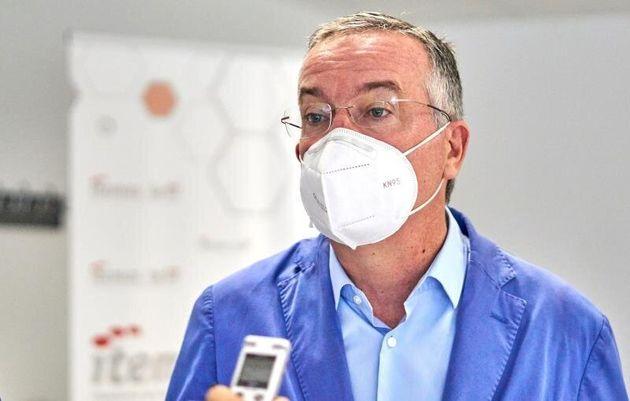 El doctor Galo Peralta, director de Gestión del Hospital Marqués de