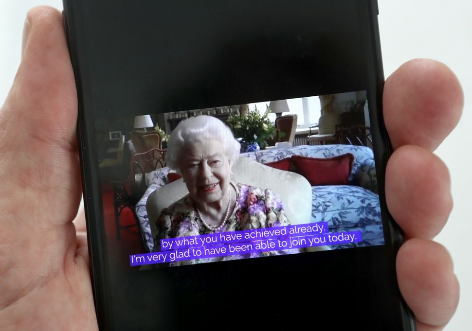 Queen Elizabeth speaks to carers via video call to mark Carers Week 2020 on June 11.