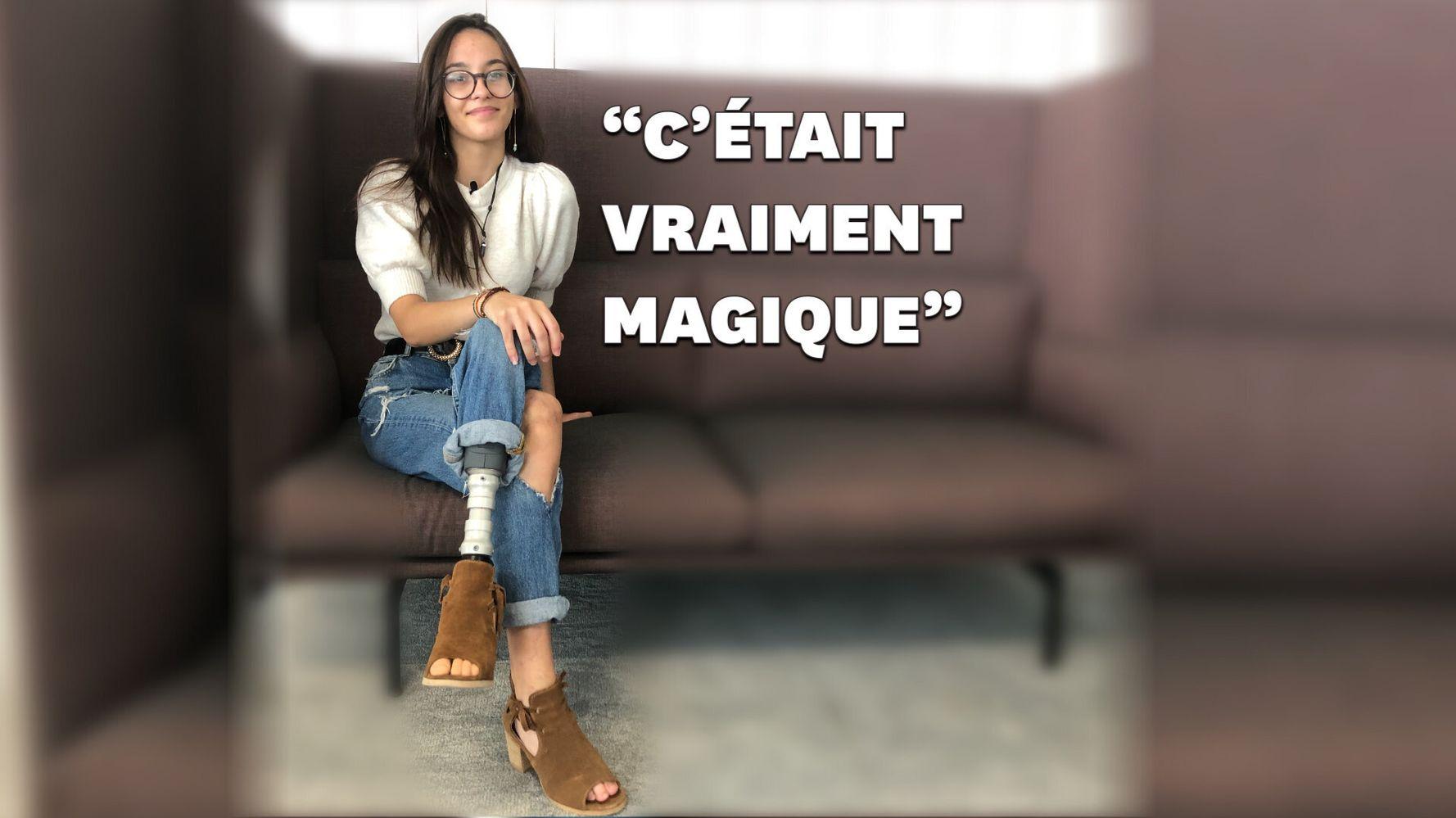 Porter des talons avec sa prothèse, l'exploit du quotidien de cette Française