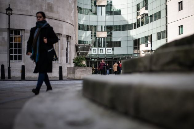 A file image of the exterior of BBC Broadcasting House on February 5,