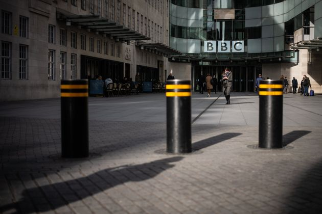 A file image of the exterior of BBC Broadcasting