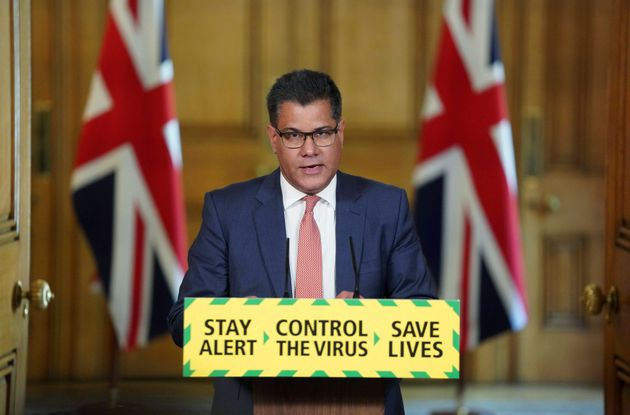 Business secretary Alok Sharma was one of the very few BAME people who appear behind the podium of the...