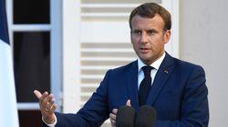 Macron ne reprend pas le mot