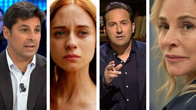 Fran Rivera, Elena Rivera, Iker Jiménez y Belén Rueda.