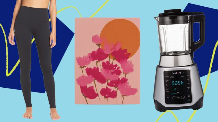 """A pair of leggings to """"live in,"""" art from a Black artist to watch, a hot and cold blender — these were a few of HuffPost readers' favorite things in August."""