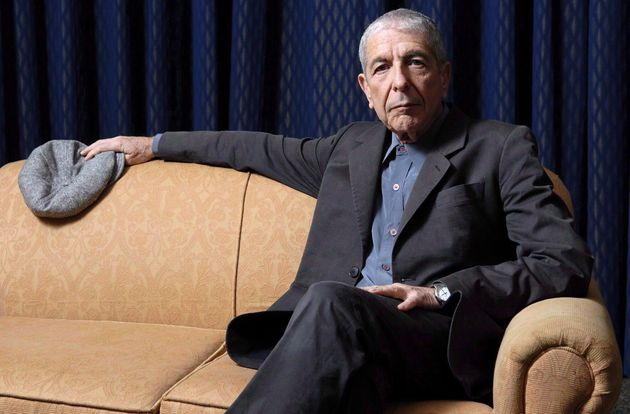 Leonard Cohen sits for a portrait in Toronto on February 4,