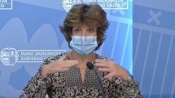 La consejera de Salud vasca: