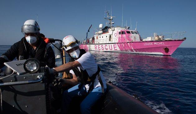 Le bateau de Banksy en Méditerranée appelle à l'aide après un sauvetage massif de migrants (photo d'illustration...