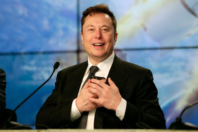 FILE - In this Sunday, Jan. 19, 2020. file photo, Elon Musk founder, CEO, and chief engineer/designer...