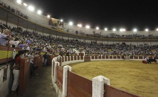 Corrida de toros en Mérida celebrada este viernes 29 de